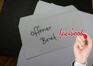 Offener Brief auf Facebook