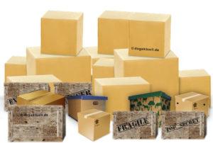 Paketstrasse - Objektsuche