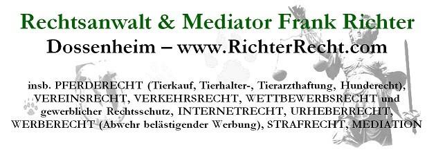 Rechtsanwalt Frank R. K. Richter